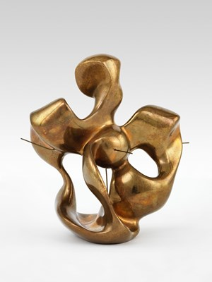 Construction dans la sphere by Georges Vantongerloo contemporary artwork