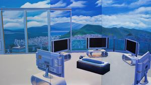 Home Sweet Home: TV Bath by Mak Ying Tung 2 contemporary artwork