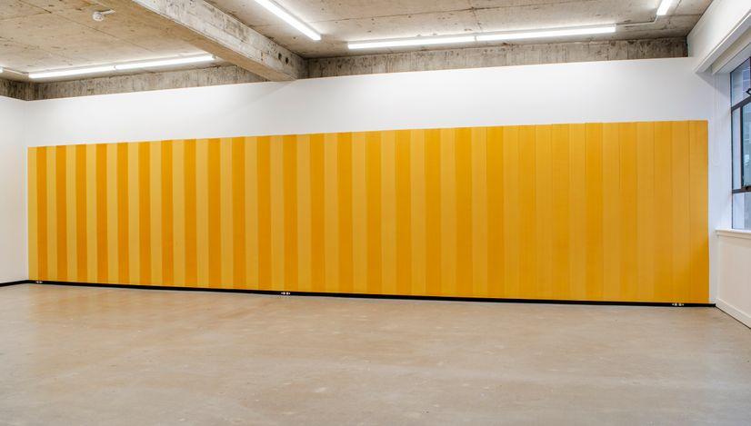Exhibition view: Simon Morris, When each action opens, Jhana Millers, Wellington (11 June–3 July 2021). Courtesy Jhana Millers.