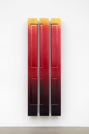 Afterglow (Skylark) by Jim Lambie contemporary artwork