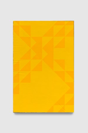 To Be Titled (Cadmium Yellow Dark II) by Mark Hagen contemporary artwork