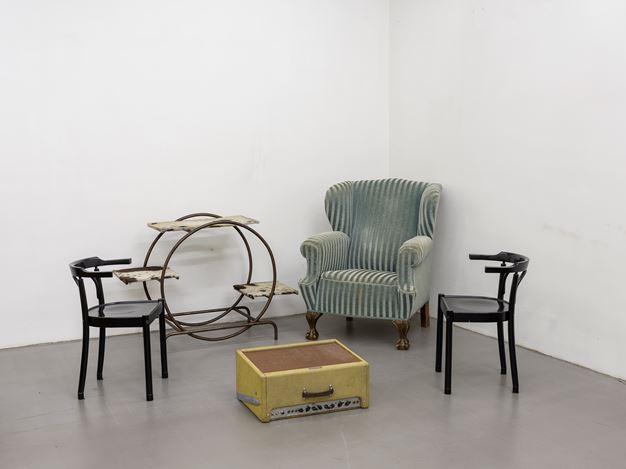 Haegue Yang, VIP´s Union, Kunsthaus Graz, 2017 (detail). Photo: Universalmuseum Joanneum/ N. Lackner.