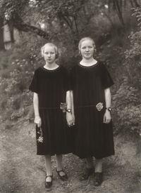 Bauernmädchen (Country Girls) by August Sander contemporary artwork print