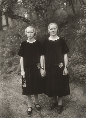 Bauernmädchen (Country Girls) by August Sander contemporary artwork