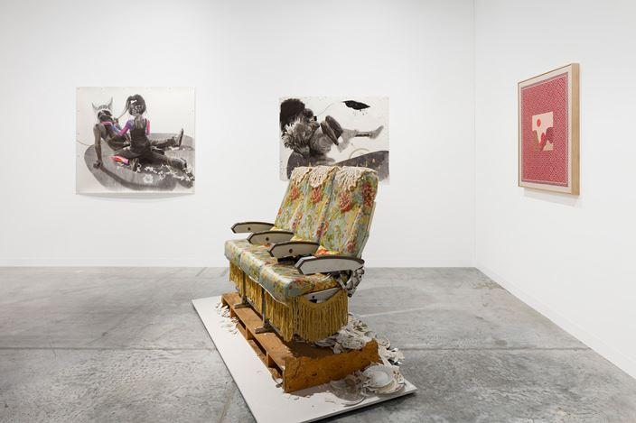 Anat Ebgi, Meridians,Art Basel Miami Beach (5–8 December 2019). Courtesy Anat Ebgi.