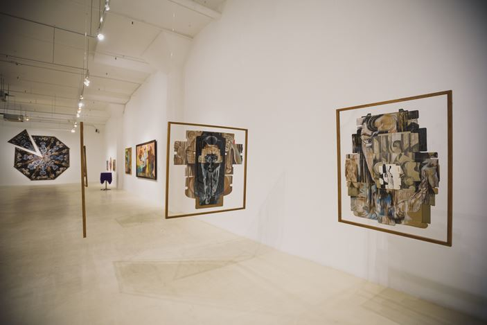 Exhibition view: Semsar Siahaan, Art, Liberation, Gajah Gallery, Singapore (2 November–29 November 2017). Courtesy Gajah Gallery, Singapore.
