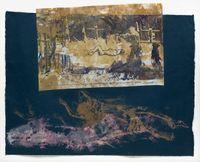 Sans titre (Cimetière de Varsovie à l'extérieur du ghetto) by Nancy Spero contemporary artwork works on paper