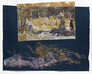 Sans titre (Cimetière de Varsovie à l'extérieur du ghetto) by Nancy Spero contemporary artwork