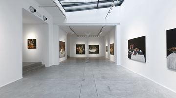 Contemporary art exhibition, Jan Van Imschoot, Le bouillon de onze heures at Templon, Brussels