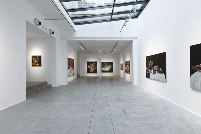 Exhibition view:Jan Van Imschoot, Le bouillon de onze heures, Templon, Brussels (29 October–24 December 2020).Courtesy Templon, Paris – Brussels. Photo: Isabelle Arthuis.
