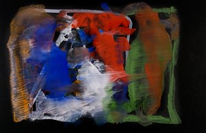 Untitled by Frederick Sommer contemporary artwork works on paper