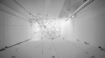 Contemporary art exhibition, Tomás Saraceno, Cosmic Resonance at Winsing Art Place, Taipei, Taiwan