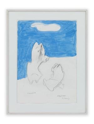 2 Verzückte (2 in Ecstasy) by Maria Lassnig contemporary artwork