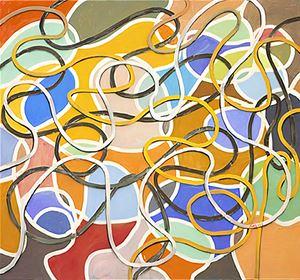 Interieur No. 181 by Anton Henning contemporary artwork