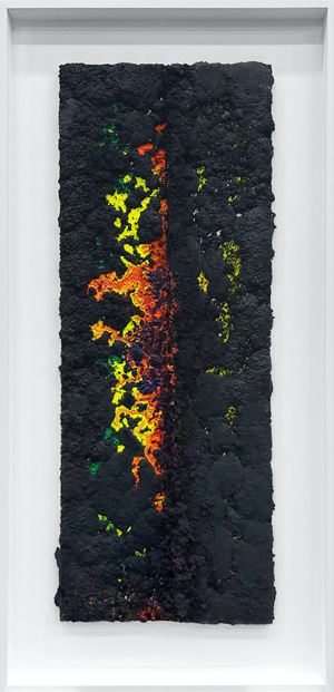 Untitled (withering) by Vaughn Spann contemporary artwork