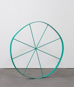 Wonky Wheel by Gary Hume contemporary artwork