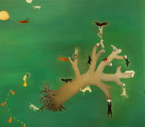Holiday of Typhoon 颱風假 by Su Wong-shen contemporary artwork