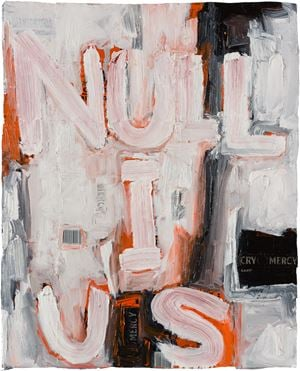 nullius (I) by Fiona Hall contemporary artwork