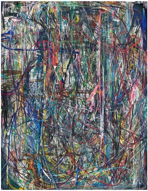 Untitled (Lasso Painting #8) by Florian Maier-Aichen contemporary artwork