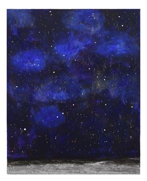 Notte stellata by Natale Addamiano contemporary artwork