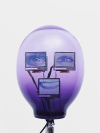 aUt-0 by Tony Oursler contemporary artwork painting, works on paper, sculpture, installation, moving image