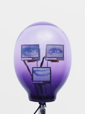 aUt-0 by Tony Oursler contemporary artwork
