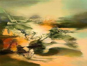 Aurora by Yang Chihung contemporary artwork