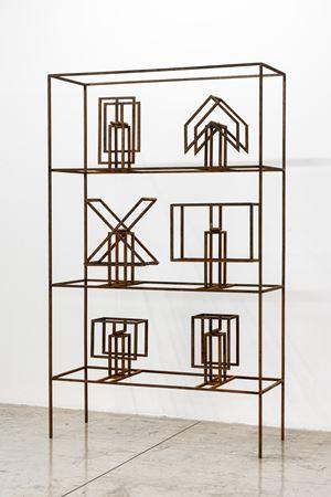 Mockups shelf Valendo # 04 by Raul Mourão contemporary artwork