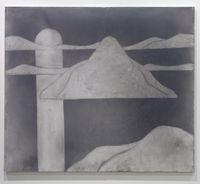 Landscape (Midnight Sun) by Silke Otto-Knapp contemporary artwork painting