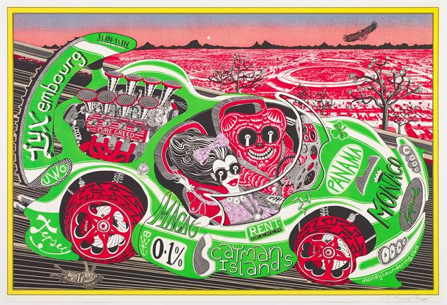 Sponsored by You by Grayson Perry contemporary artwork