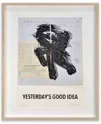 Yesterday's Good Idea by William Kentridge contemporary artwork sculpture, print