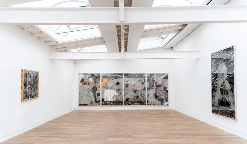 Exhibition view: Tamara K. E., 5 minutes of random love, Beck & Eggeling International Fine Art, Düsseldorf (9 November–21 December 2019). Courtesy Beck & Eggeling Fine Art.