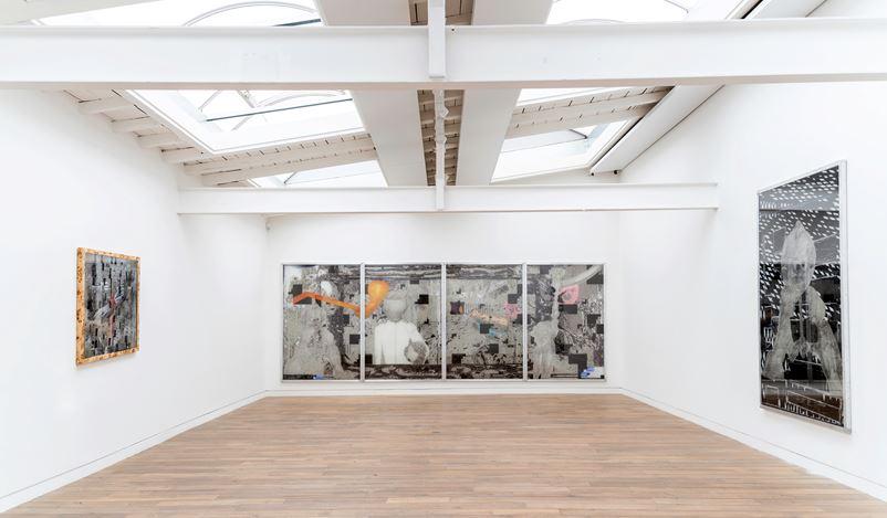 Exhibition view: Tamara K. E.,5 minutes of random love, Beck & Eggeling International Fine Art, Düsseldorf (9 November–21 December 2019). Courtesy Beck & Eggeling Fine Art.