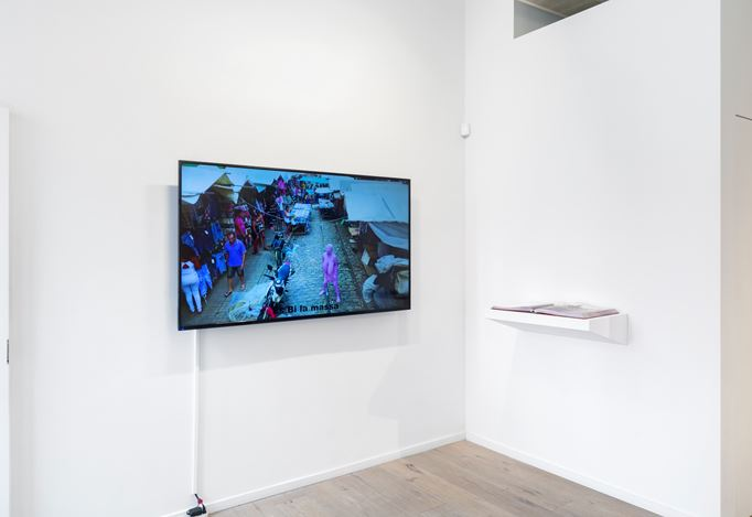 Exhibition view: Berna Reale, While You Laugh, Galeria Nara Roesler, New York (24 April–15 June 2019). Courtesy the artist and Galeria Nara Roesler. Photo: © Adam Reich.