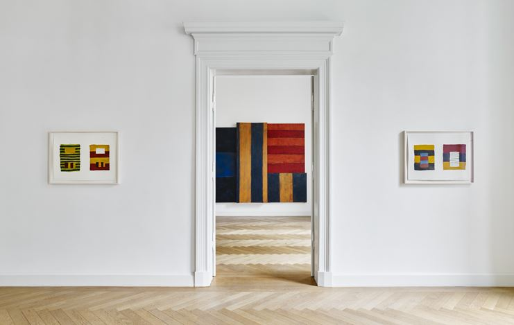 Exhibition view:Matisse | Scully,Window,KEWENIG, Berlin (8 September–27 October 2018). Courtesy the artists and KEWENIG. Photo: Stefan Müller.