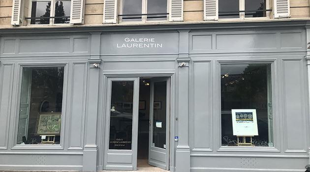 Galerie Laurentin, Paris - Bruxelles contemporary art gallery in Paris, France
