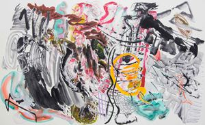 500 Brushstrokes #57 五百笔 #57 by Wu Jian'an contemporary artwork