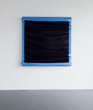 Layers - Large (Ultramarine Blue / Light Blue) by Angela De La Cruz contemporary artwork