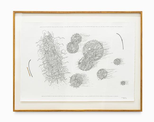 As pequenas maçãs vermelhas rolavam... by Milton Machado contemporary artwork