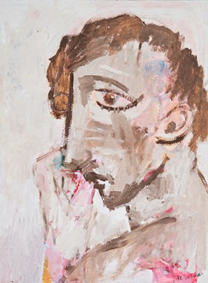 Young man by Stephen Benwell contemporary artwork