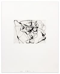 After Botticelli IV by Brice Marden contemporary artwork print