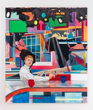 The Pundit by Hernan Bas contemporary artwork