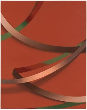 Weie by Tomma Abts contemporary artwork