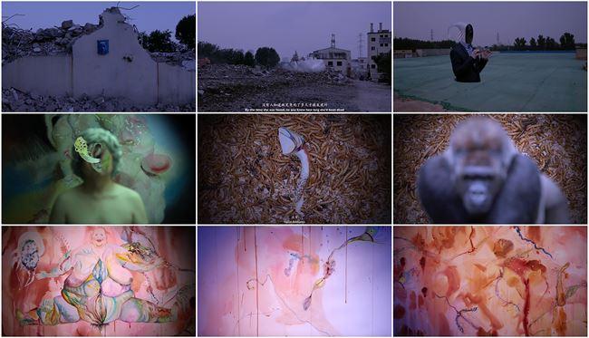The City of Dionysus by Wang Haiyang contemporary artwork
