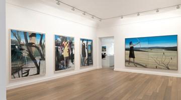 Contemporary art exhibition, Marc Desgrandchamps, Soudain hier at Galerie Lelong & Co. Paris, 13 Rue de Téhéran, Paris