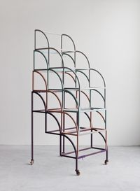 Circle Stairs-4 #01 by Suki Seokyeong Kang contemporary artwork sculpture