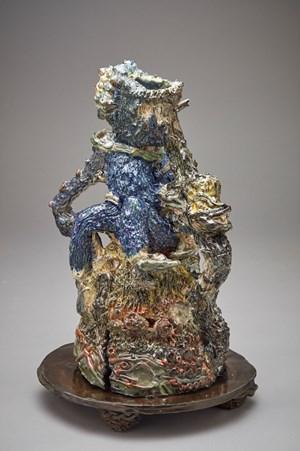 Blue Body by Nichola Shanley contemporary artwork