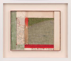 """Paysage avec plume rouge"" by Camiel Van Breedam contemporary artwork"