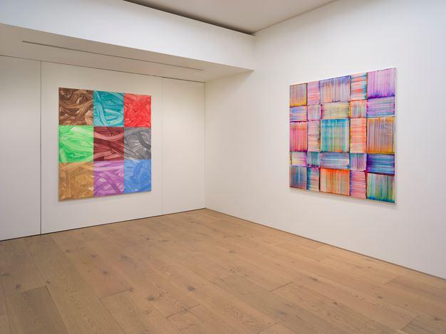 Exhibition view: Bernard Frize, Perrotin, Tokyo (20 March–8 May 2019). © Bernard Frize / ADAGP, Paris, 2019. Courtesy the artist and Perrotin.Photo: Kei Okano.