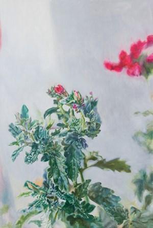 House Geranium 180910 天竺葵180910 by Jeng Jundian contemporary artwork